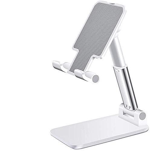 USNASLM Soporte de escritorio para teléfono móvil, para iPhone iPad ajustable de escritorio soporte universal de la tableta de la mesa del teléfono celular