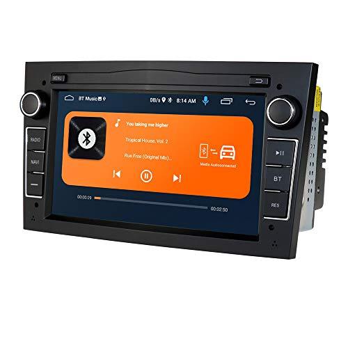Autoradio Android 10 Stereo con touch screen capacitivo da 7 pollici per OPEL, supporto navigazione GPS 2 Din Connessione USB Controllo ruota Telecamera retrovisiva DAB + TPMS Bluetooth