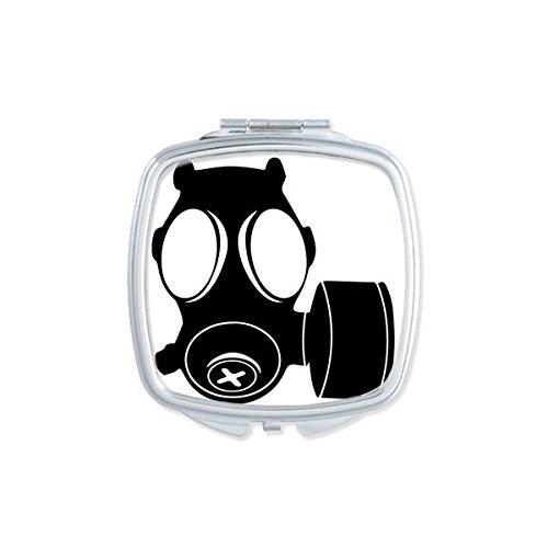 DIYthinker El Maquillaje Compacto Contaminación Especial Armas Counter Strike Antigás De La Silueta del Modelo Cuadrado De Espejo De Bolsillo Portátil Pequeño Linda Mano Espejos