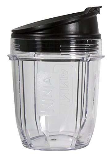 Nutri Ninja 12-Ounce BPA-Free Tritan Cup with Spout Lid for Nutri Ninja Blenders (XSK12SP)