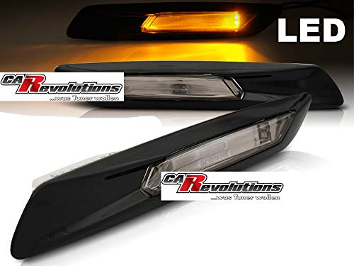 LED Seitenblinker 5er F10 F11 schwarz glanz smoke 2010 bis 2013