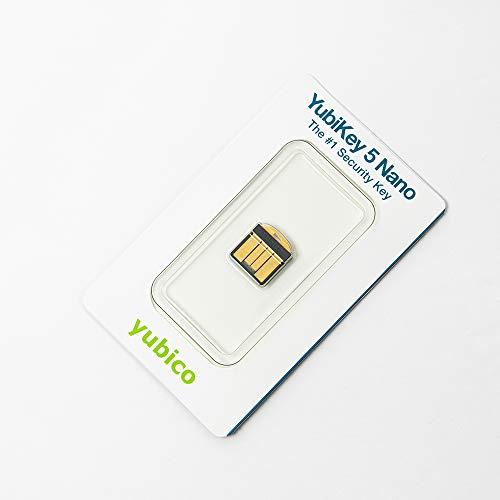 YubiKey 5 Nano (2 Faktor Authentifizierung, ultra kompakt) - 4
