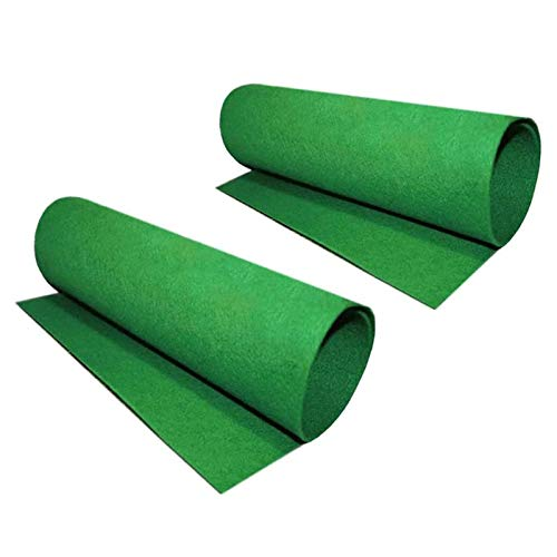 Tfwadmx Reptile Carpet, 2 Pack of Bearded Dragon Mat Terrarium Substrate Liner Bedding for Snake Turtle Lizard Geckos Hermit Crabs (24'' X 16'')