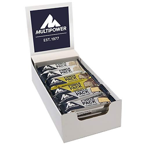 Multipower Power Pack Mix Box, 18 x 35 g Protein Riegel Box