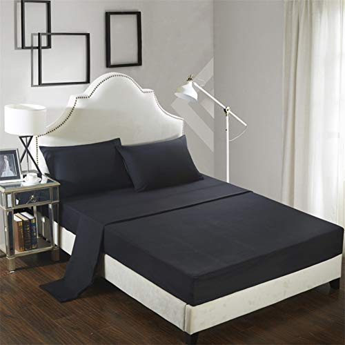 JUWENIN, Bed Sheets Set Luxury Quality Wrinkle