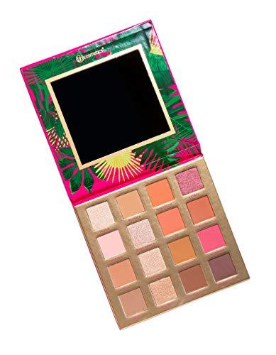 BH Cosmetics 16 Color Eyeshadow Palette, Hanging Hangin' In Hawaii