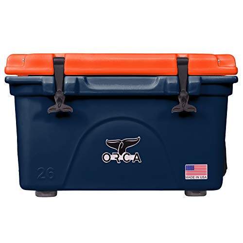 ORCA Cooler with Lid Gasket and Stainless Steel Handle