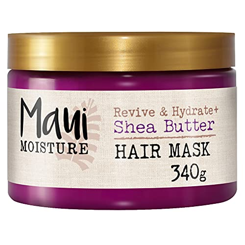 Maui Moisture, Maschera per Capelli Rivitalizzante e Idratante, Burro di karité, 385 ml
