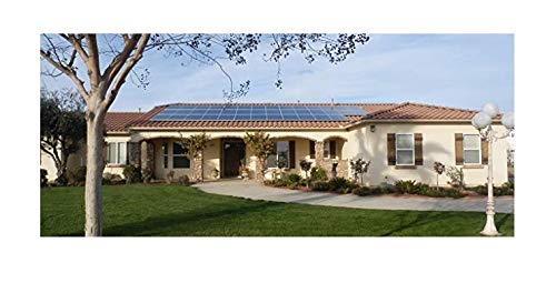 Plugged Solar 5KW Grid-tie Kit. Roof Mounting for Solar Panel. High Rating Inverter