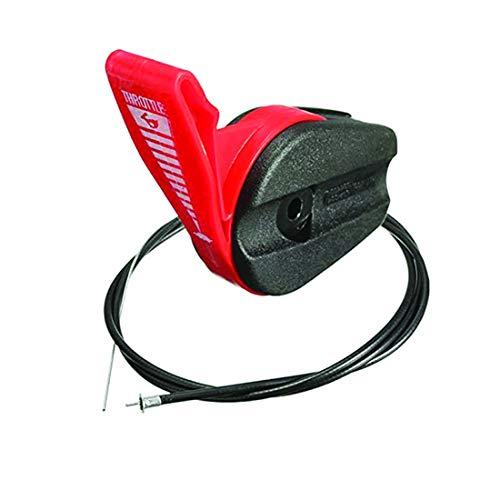 Podoy Lawn Mower Throttle Cable Universal 65'Kit de palanca de interruptor de control para cortadoras de césped eléctricas de gasolina