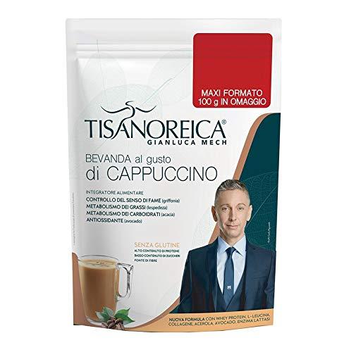 Tisanoreica Bevanda Al Cappuccino 500gr Proteine Del Siero Del Latte