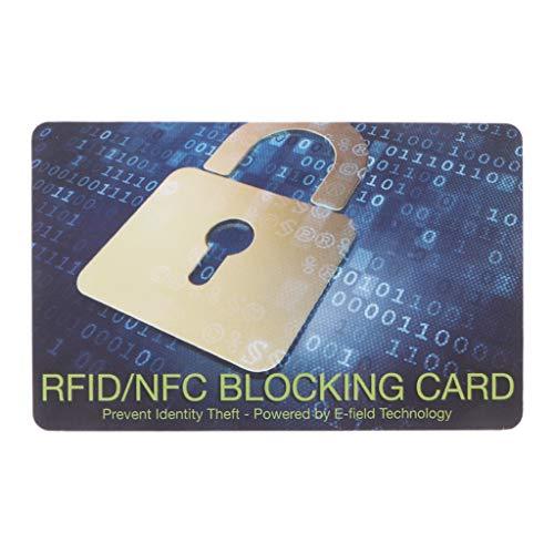 peng Credit Card Protector RFID blokkeren NFC signalen Shield veilig voor paspoort portemonnee