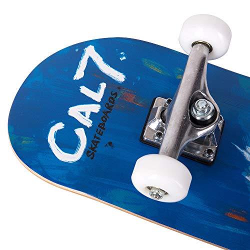 Cal 7 Complete Standard Skateboard 7.5-8-Inch Deck (8