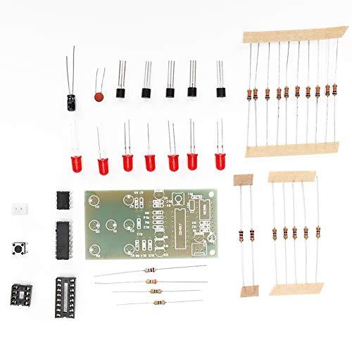 Kit de dados de bricolaje, kit de dados electrónicos confiable 68X35Mm estable para el hogar para la industria para circuitos electrónicos