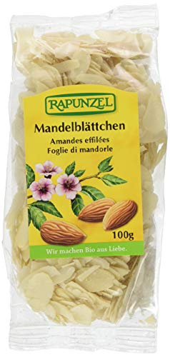 Rapunzel Mandelblättchen, 3er Pack (3x 100 g) - Bio