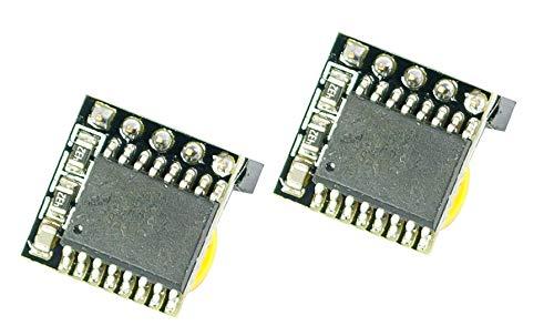 MissBirdler 2stueck Mini DS3231I2C Real Time Clock RTC con sensore di temperatura per Arduino Raspberry Pi