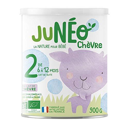 JUNEO Lait de chèvre 2eme âge Bio - 900G