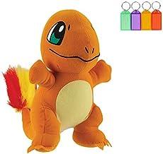 Pokemon Charmander Plush Stuffed Figure Official Licensed + Bonus with Name Tag