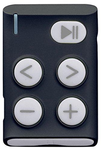 Lenco MP3-Player XEMIO-154 Optimal für Sport mit großen Tasten und Clip (4GB SD-Card inklusive), Kopfhörer, grau