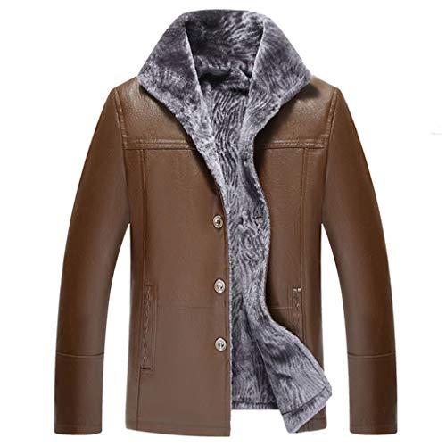 Trench Coat Men Outdoor Plus Size waterdichte lederen jas modern verdikke, warme motorrijder top