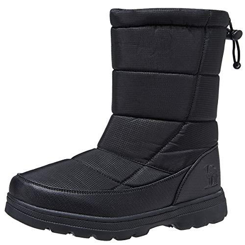 CAMEL CROWN Damen Winterschuhe Schneestiefel Warm rutschfest Outdoor Boots Winterstiefel Wanderschuhe Trekkingschuhe Sneakers Freizeitschuhe Gr.41-46