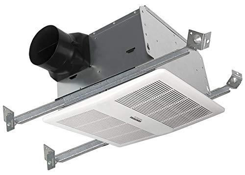 "VENTISOL 6"" Ventilation Fan 110 CFM Recessed Ceiling Exhaust Fan for Bathroom and Home, HVI, ETL,Energy Star Certified,0.9 Sones, White"