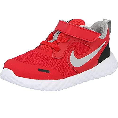 Nike Revolution 5 (TDV) University Zapatillas, color Rojo/LT Smoke Grey-B - 3C