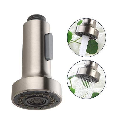 Homelody Ersatz Küche Brausekopf 2 Strahlarten Kunststoff Geschirrbrause Spüle Wasserhahn Küche Küchenbrause