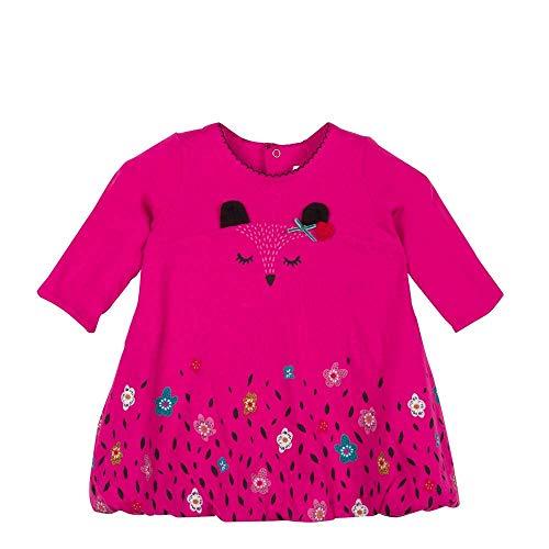 Catimini Robe boule CM30273, Bébé fille, Rose (Fuchsia 35), 18-24 mois (Taille fabricant:18M)