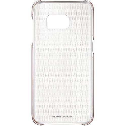 Samsung Clear Cover Schutzhülle für Galaxy S7, roségold