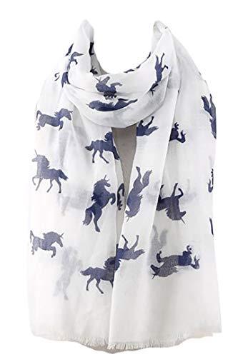 GFM paardenpatroon sjaal (HSSCF)