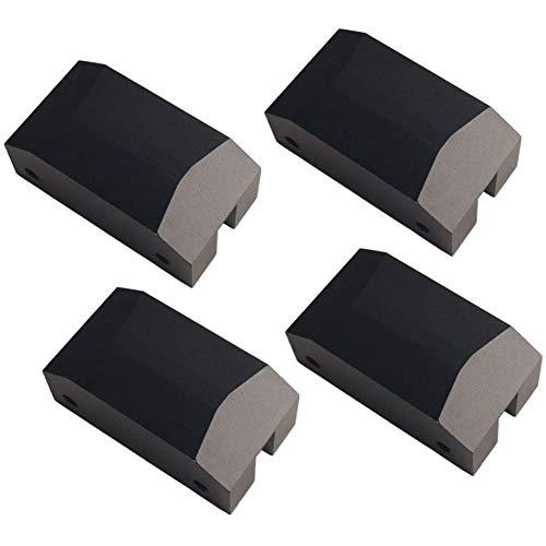 Viudecce Adaptador de Almohadilla de Gato para Coche, Almohadilla de ElevacióN de Gato de Piso de Aluminio Anodizado para 5Th Gen Camaro 10-15 GSF Focus