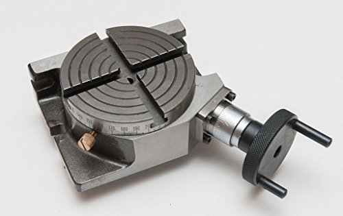 """OMEX New Rotary Table Horizontal & Vertical 4"""" / 100MM For Milling Machine"""