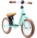 Löwenrad Kinder Laufrad ab 3, 4 Jahre, 12 Zoll Jungen und Mädchen leichtes Lauflernrad höhenverstellbar, tiefer Einstieg, Mint