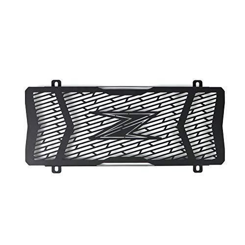 Mota - Rejilla de radiador de acero inoxidable, color negro, protección de piedra, para Kawasaki Z650 2017 2018 2019
