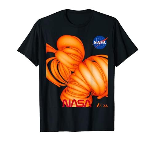 NASA Generado Por Computadora Campo Magnético De Nuestro Sol Camiseta