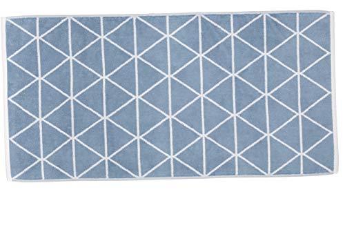 framsohn Handtuch Triangle Graphics 50 x 100 cm Niagara - Blau