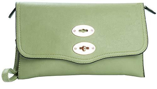 Big Handbag Shop,  Green (HR617)