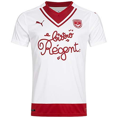 PUMA Fcgb Feria Shirt R.Away - Camiseta para Hombre, Color Blanco, FR: L (Talla Fabricante: L)