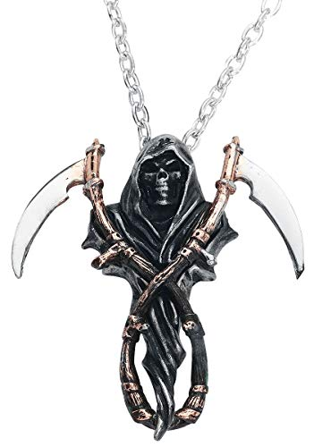 Alchemy Gothic The Reapers Arms Unisex Halskette silberfarben Hartzinn Gothic