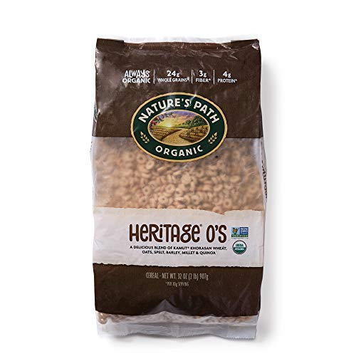 Natures Path Heritage Os Cereal, Healthy, Organic, Low-Sugar, 32 Ounce Bag (Pack of 6)