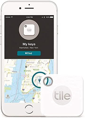Tile Mate - Key Finder, Phone Finder, Anything Finder - Item Locator - Non Retail Packaging - 1 Pack