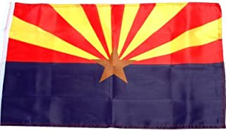 Small 12 Inch X 20 Inch Replacement Flag For Whip Antenna Arizona State Flag