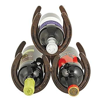 Best horseshoe wine rack Reviews