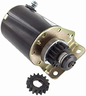 Discount Starter & Alternator Replacement Starter For John Deere Briggs & Stratton Cub Cadet Zero Turn Riding Lawn Mowers Tillers 390838 391423 392749 AM122337