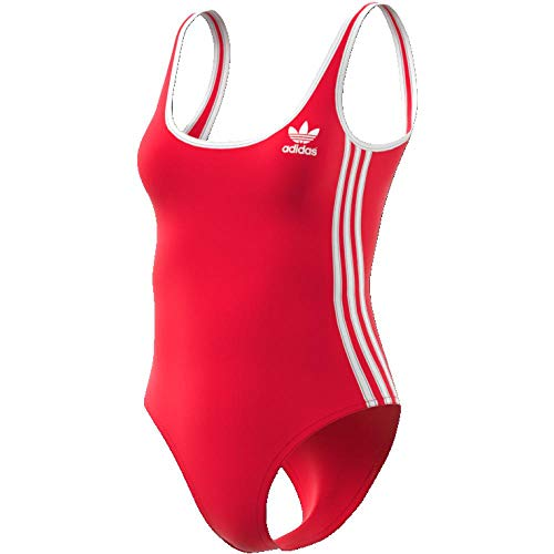 adidas 3 Stripes Body, Mujer, Rojo (rojrad), 44