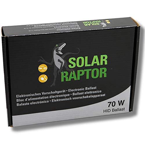 Econlux SolarRaptor, elektronisches Vorschaltgerät für 70W HID-Lampen , Vorschaltgerät für HID Terrarienstrahler bis 70W