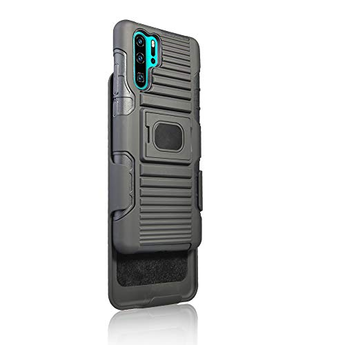 MyCrazyCover Clip Hülle kompatibel mit Huawei P30 pro Multi-Funktion All-In-One Outdoor Cover Camping Case Sport Hülle Baustellen Handy