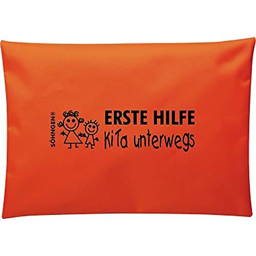 Erste Hilfe Tasche Kita Unterwegs Orange, 1 St