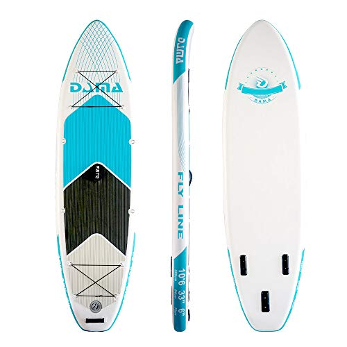 DAMA Inflatable Stand up Paddle Board, Drop Stitch & PVC, Traveling Board, Yoga Board, Floating...